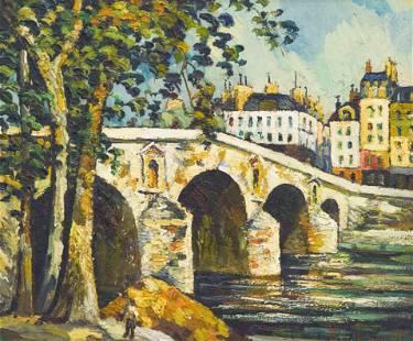Pierre Dumont - Le Pont Marie