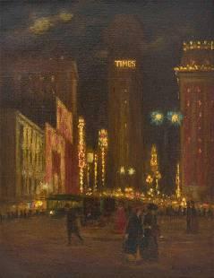 Aloysius O'Kelly - Time Square
