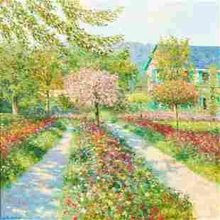 Claude Cambour - Les Jardin de Giverny au Printemps
