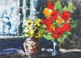 Karl Stark - Flowers At The Window