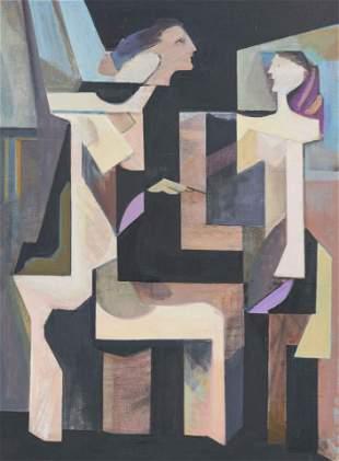 Leonard Alberts - Two Figures