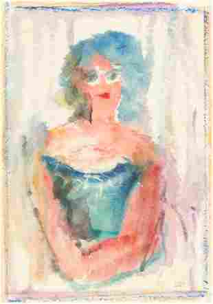 Unknown Artist - Untitled (Portrait of a Woman)