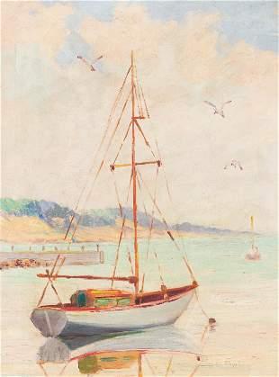 John Cowan Templeton - Untitled (Sailboat)