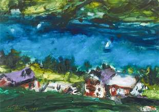 Karl Stark - Coastal Landscape