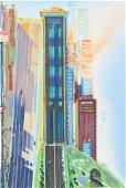 Wayne Thiebaud - Hill Street