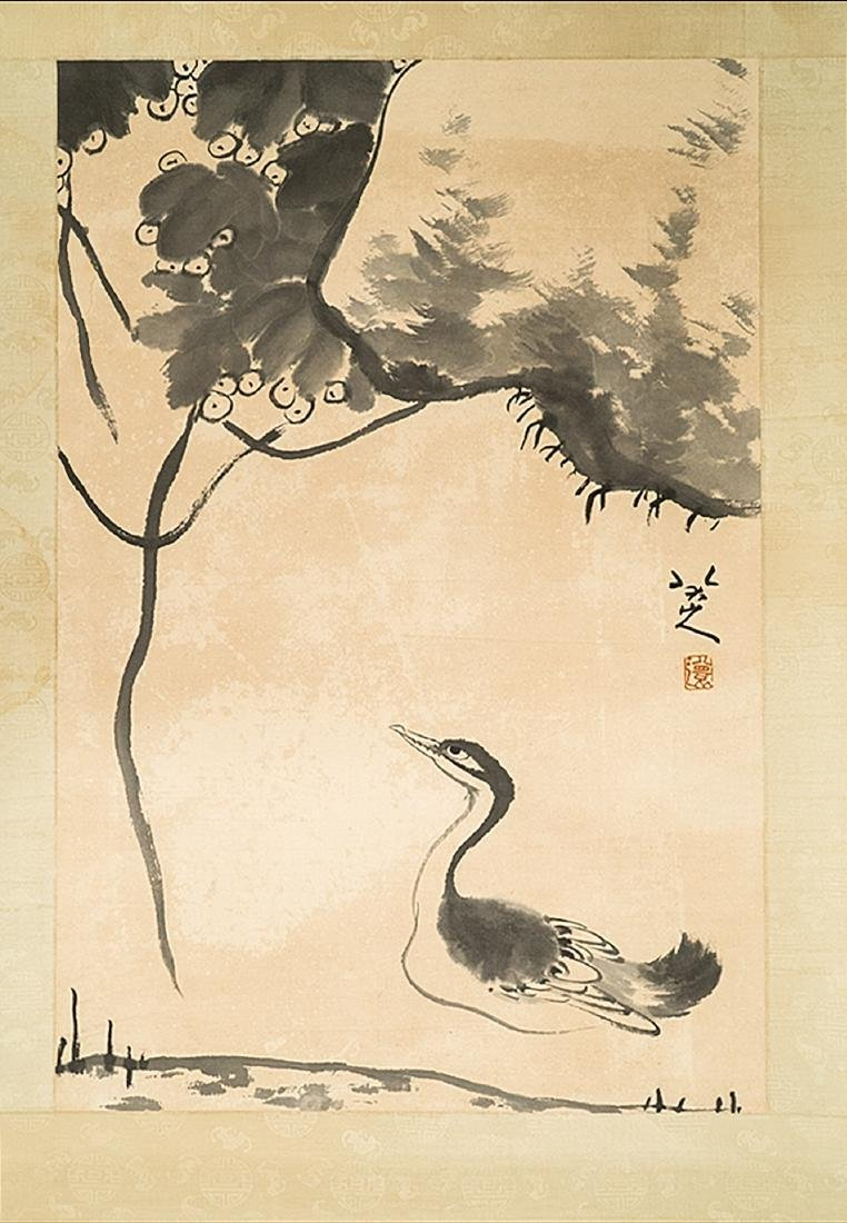 CHINESE PAINTING OF DUCK