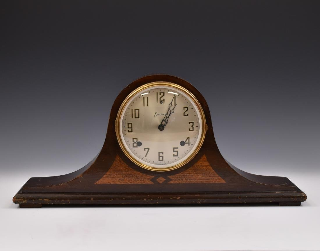 1930 8-DAY SESSIONS MANTEL CLOCK