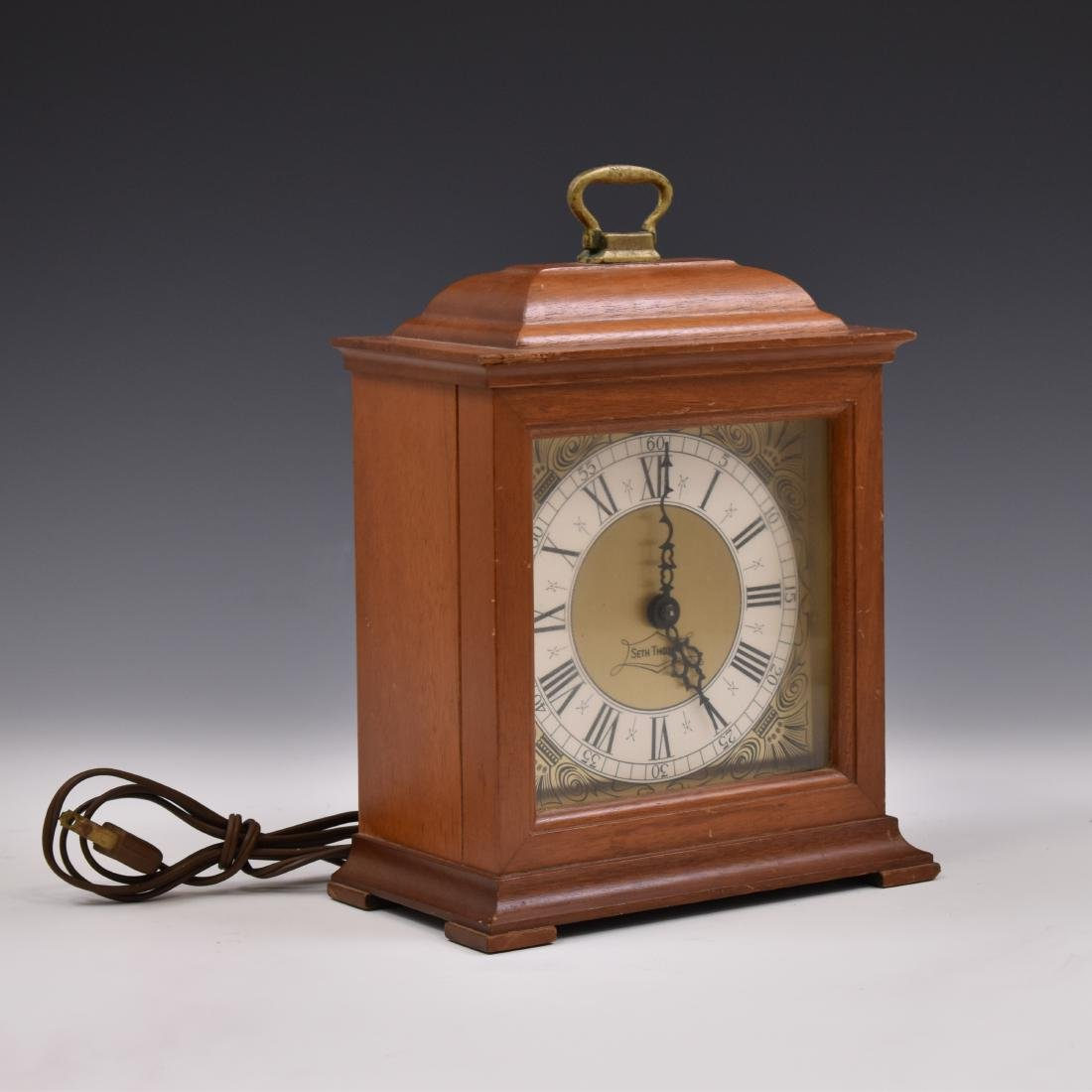 1960 SETH THOMAS BRACKET ELECTRIC CLOCK