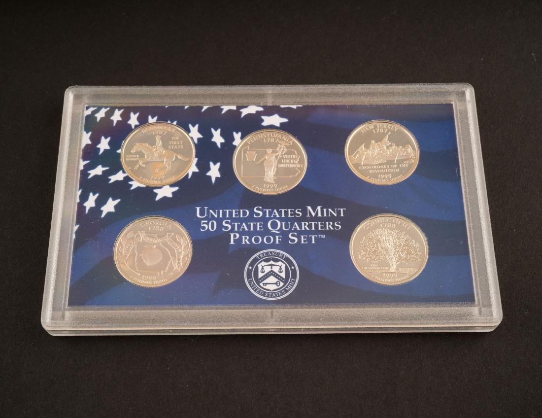 UNITED STATES MINT UNCIRCULATED COIN SET 1999