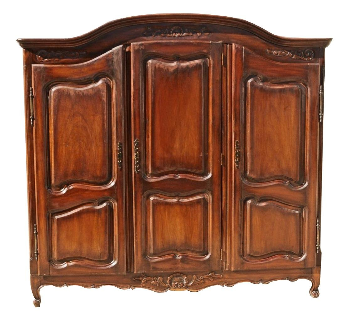 FRENCH ARMOIRE WITH 3 DOORS