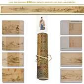 1655 MING DONG QICHANG LANDSCAPE LONG HAND SCROLL
