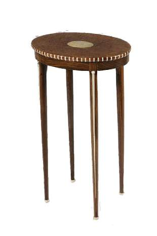 OVAL TOP STAND