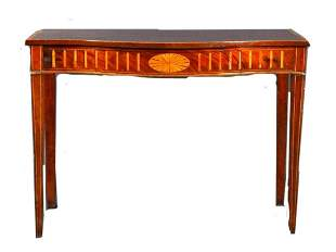 SERPENTINE SERVING TABLE