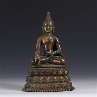 BRONZE BUDDHA SAKYAMUNI