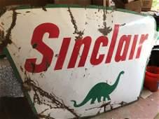 Large Porcelain Sinclair Sign