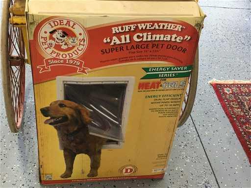 Super Large Ruff Weather Pet Door