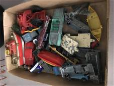 Lot of Vintage and Antique Toys