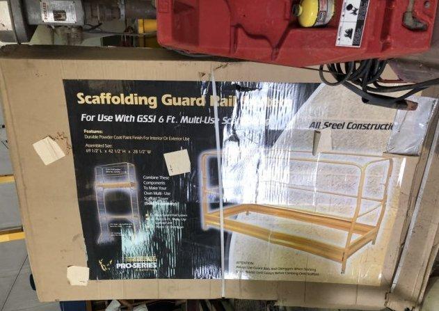 Scaffolding Guard Rail Sysytem