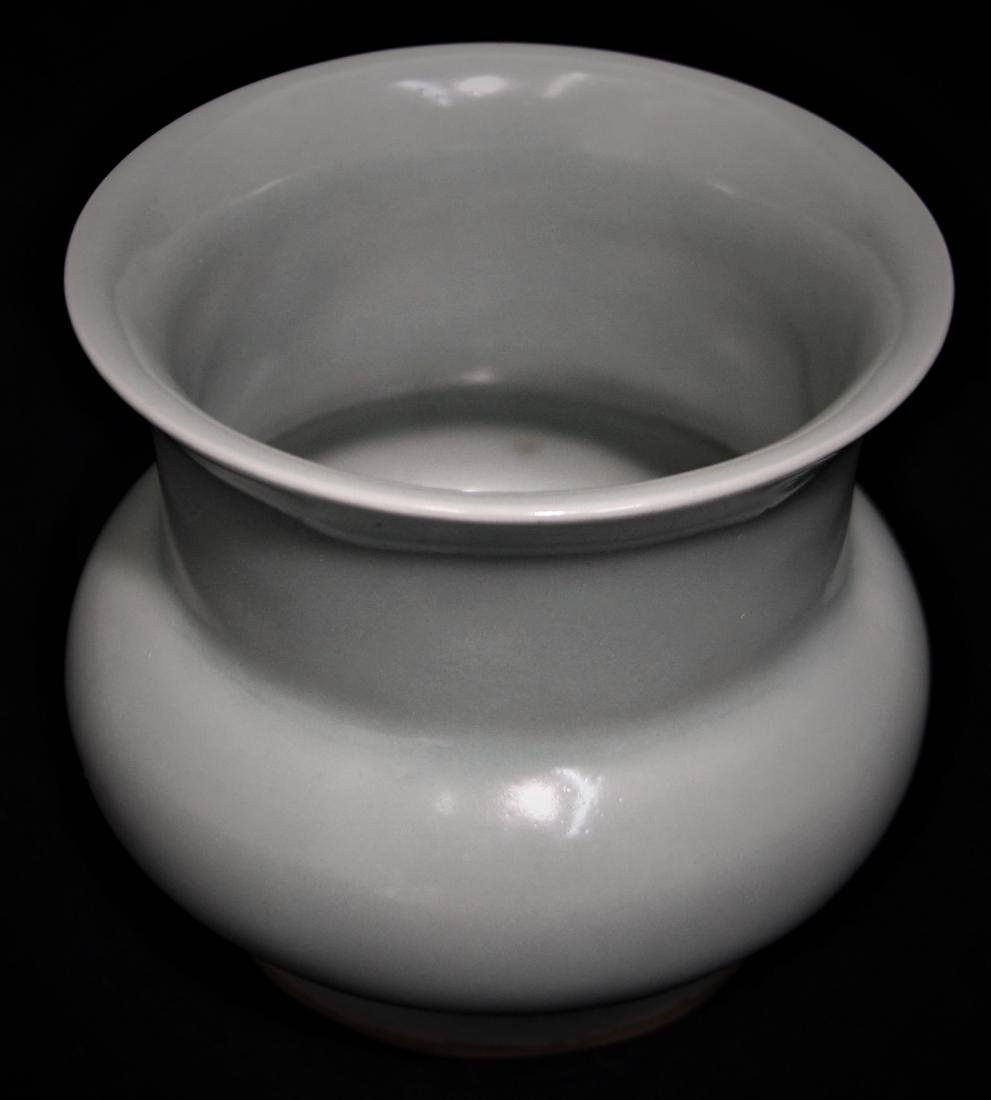 CELADON GLAZED SPITTOON - 6