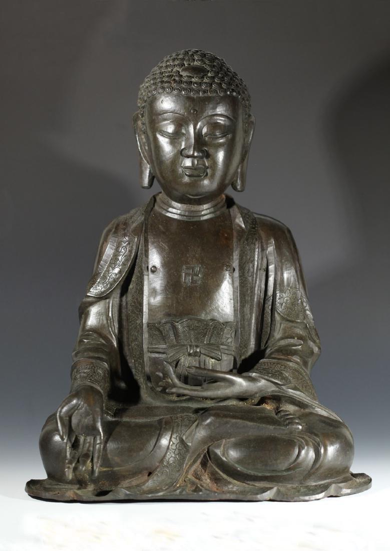 SAKYAMUNI BUDDH              MING DYNASTY
