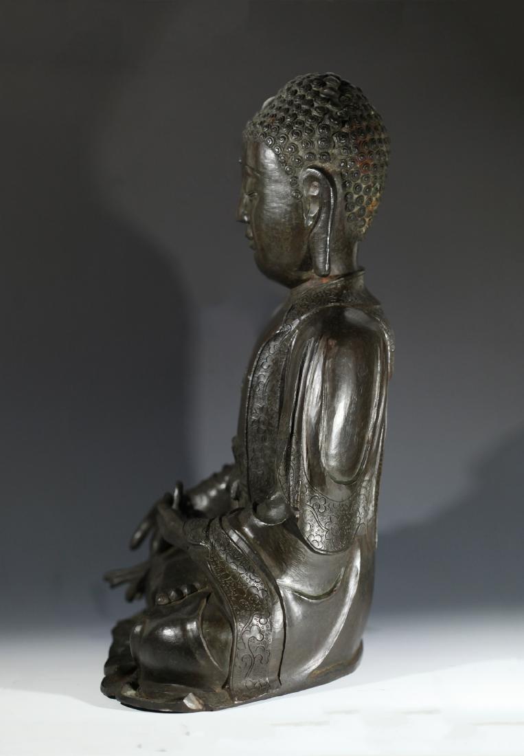 SAKYAMUNI BUDDH              MING DYNASTY - 4