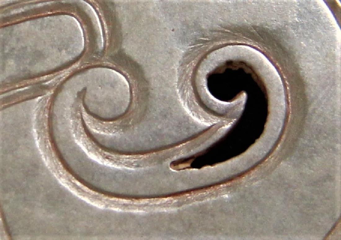A JADE CARVED DRAGON HUANG PENDANT - 3