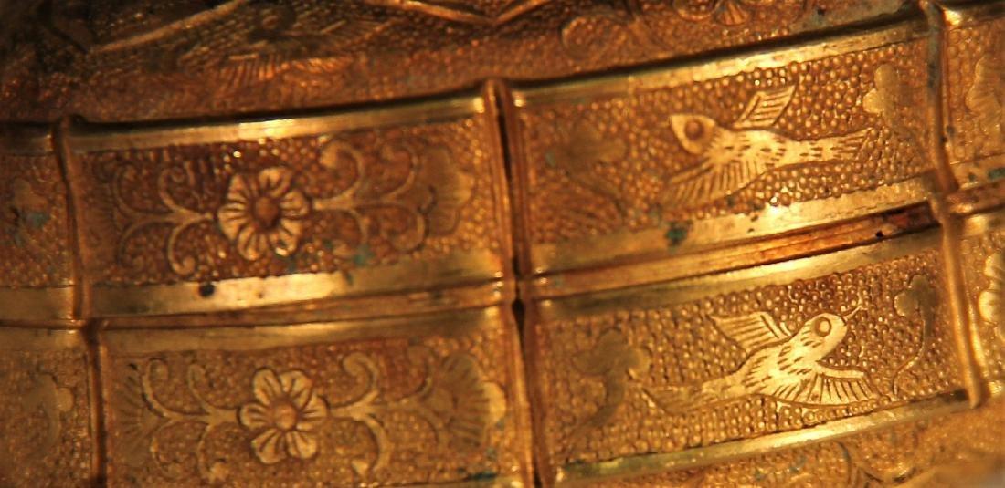 A Gold Powder Box - Han Dynasty - 2