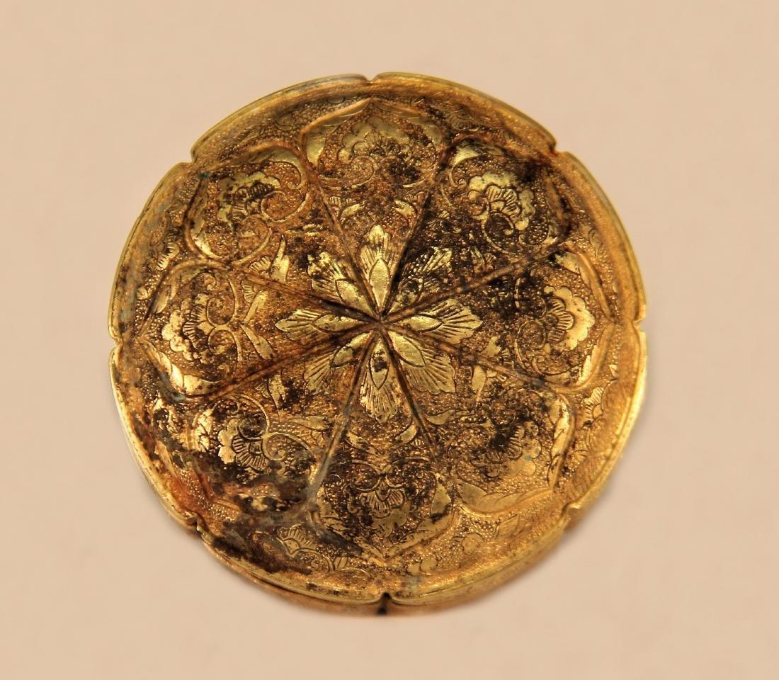 A Gold Powder Box - Han Dynasty - 3
