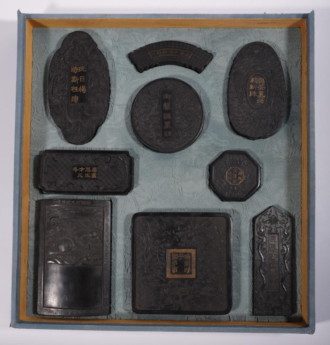 Qing Dynasty - Ink Set (9pc)