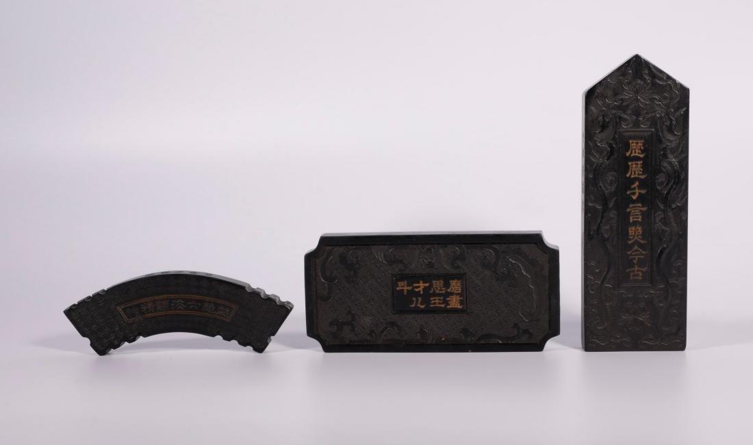 Qing Dynasty - Ink Set (9pc) - 4