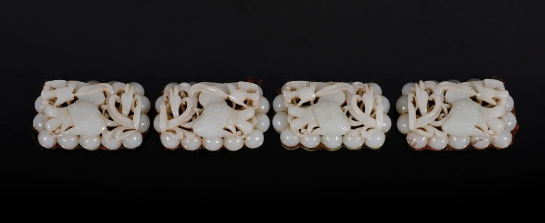 """Liao Dynasty - """"Hetian"""" Jade Connective Waist Belt - 2"""