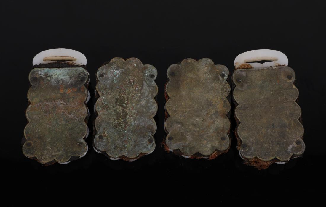"""Liao Dynasty - """"Hetian"""" Jade Connective Waist Belt - 5"""
