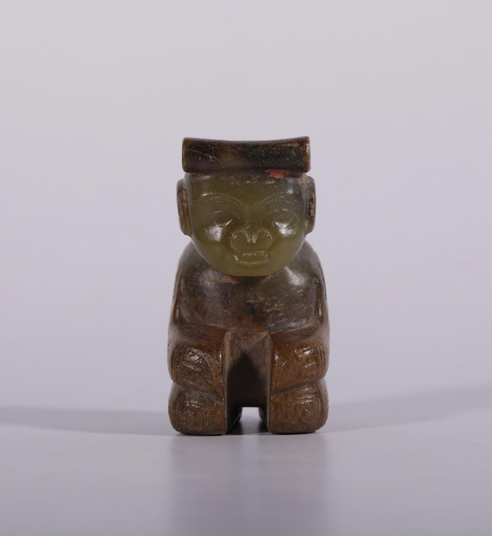 Shang Dynasty - Jade Figure