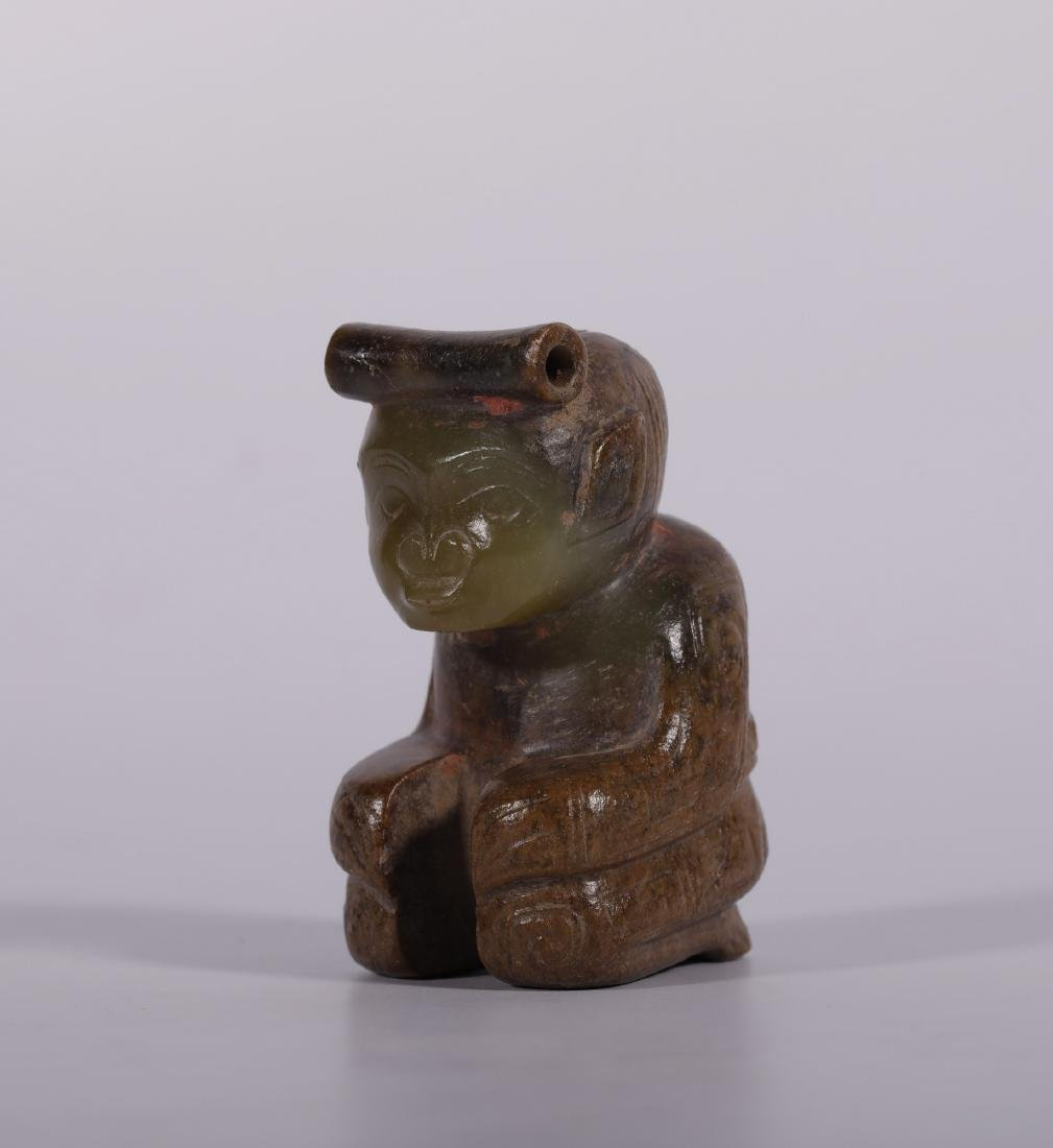 Shang Dynasty - Jade Figure - 2