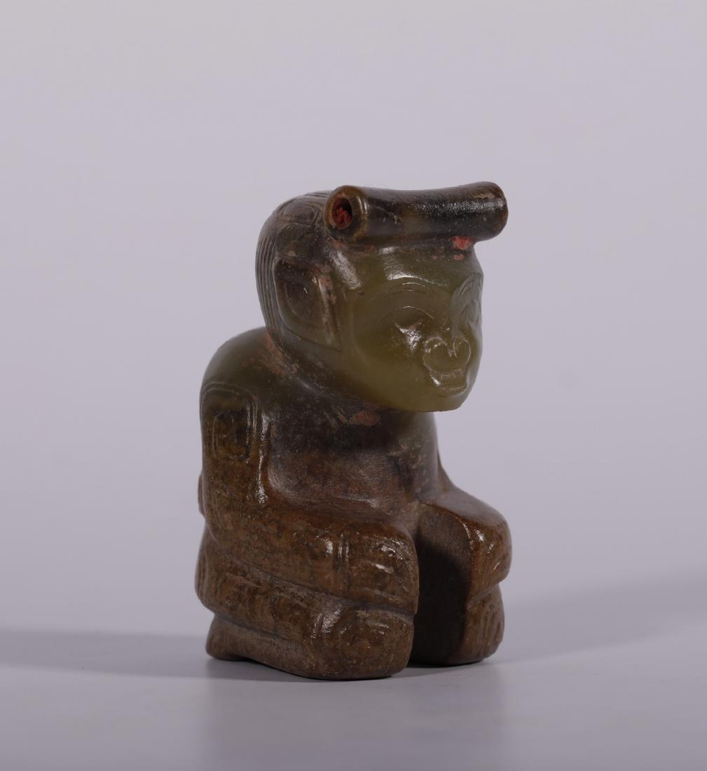 Shang Dynasty - Jade Figure - 3