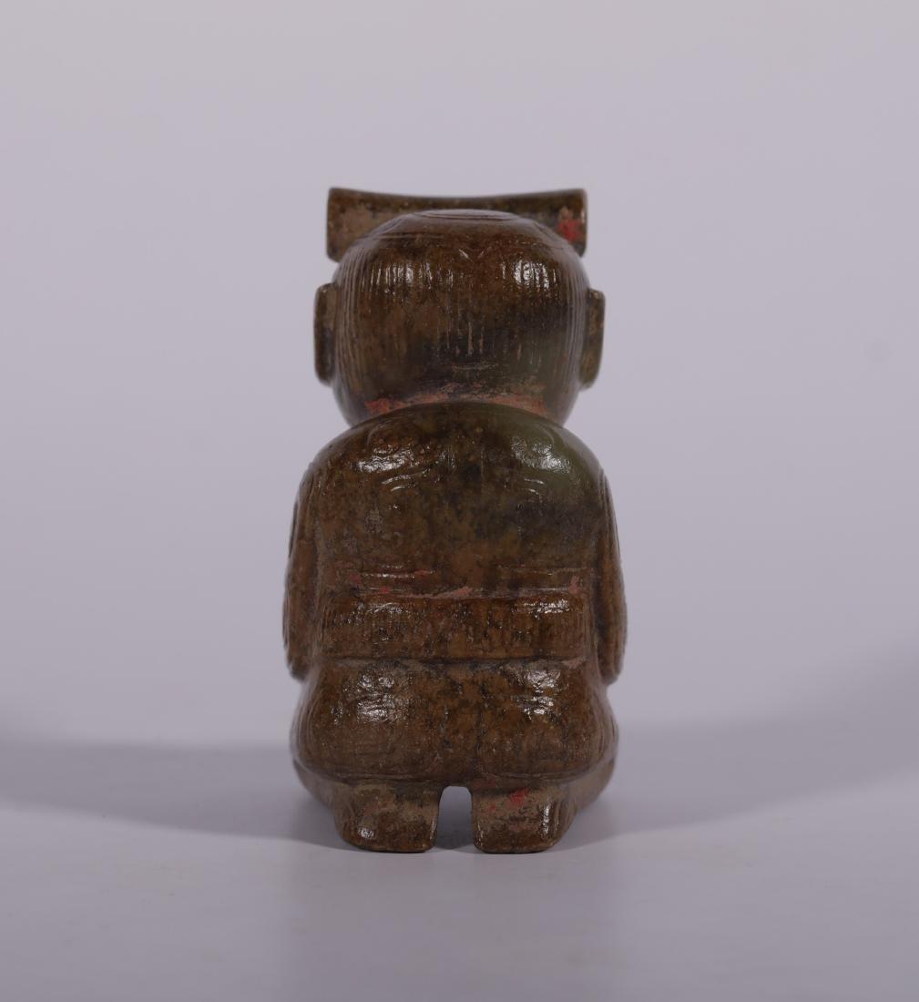 Shang Dynasty - Jade Figure - 4