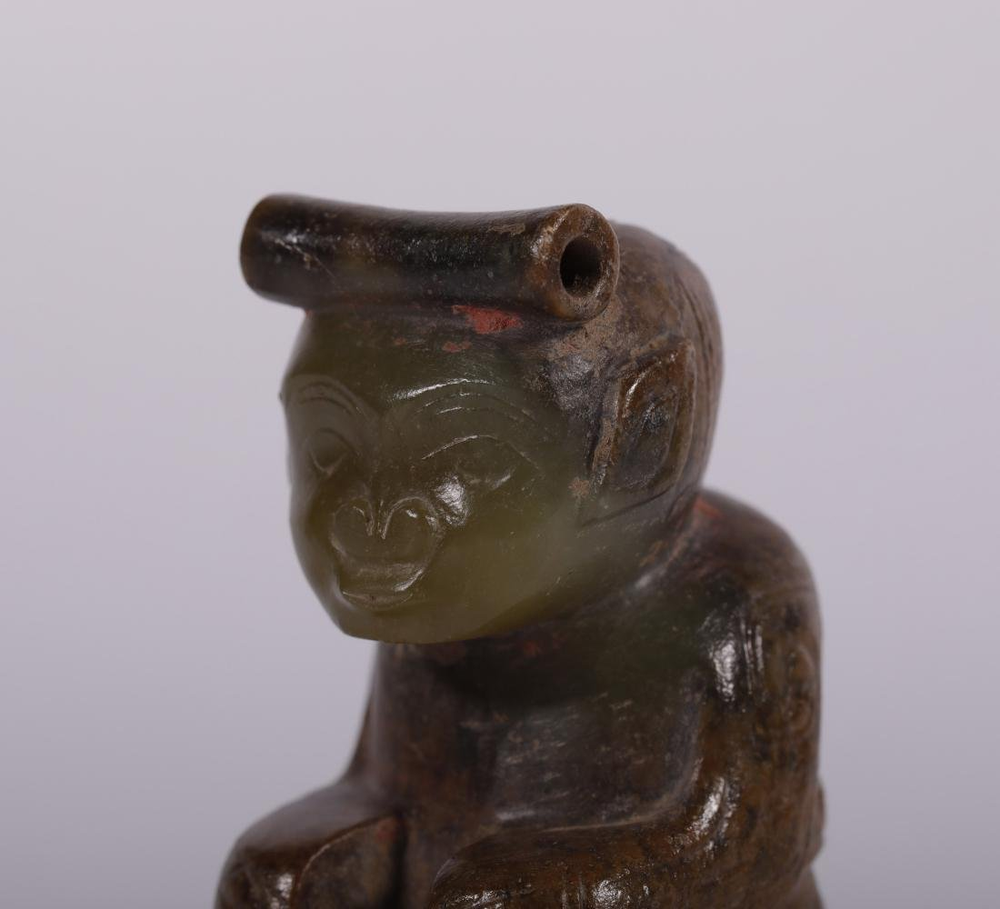 Shang Dynasty - Jade Figure - 6