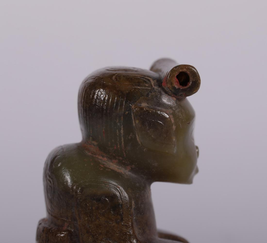 Shang Dynasty - Jade Figure - 7