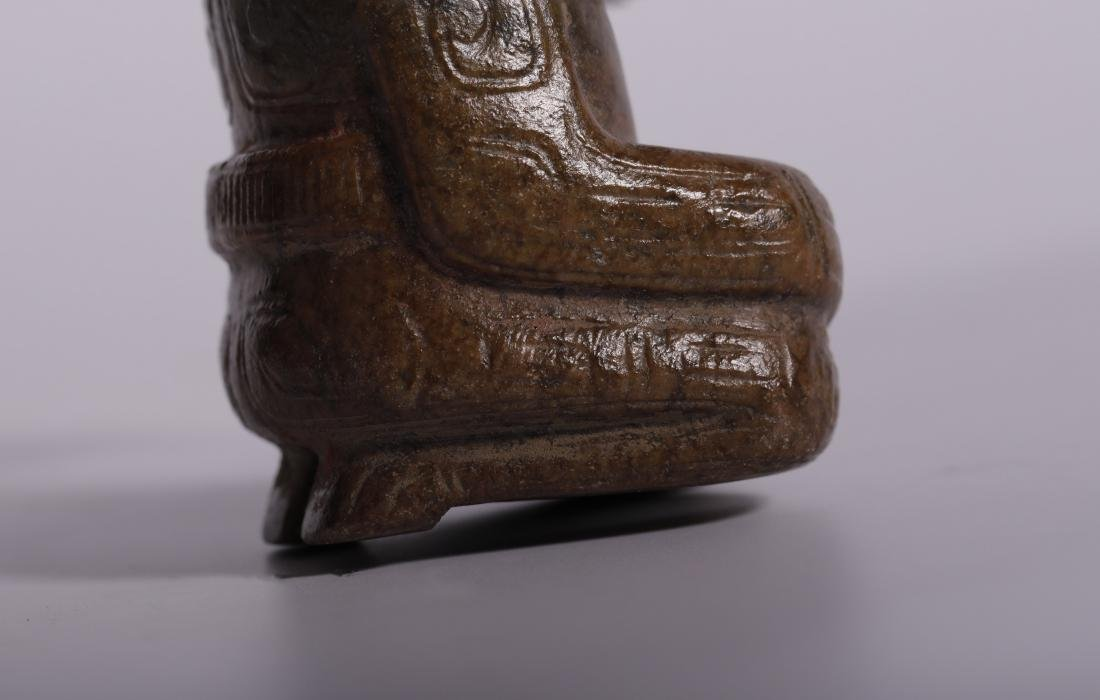 Shang Dynasty - Jade Figure - 8