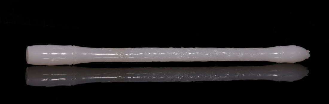 "Qing Dynasty - ""Hetian"" Jade Stationery (4 pc) - 7"