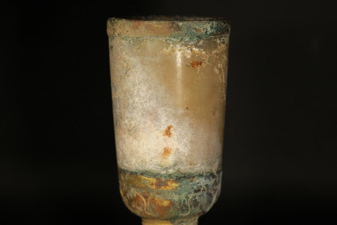 Warring State-Gilted Cup w/ Jade Inlaid - 7