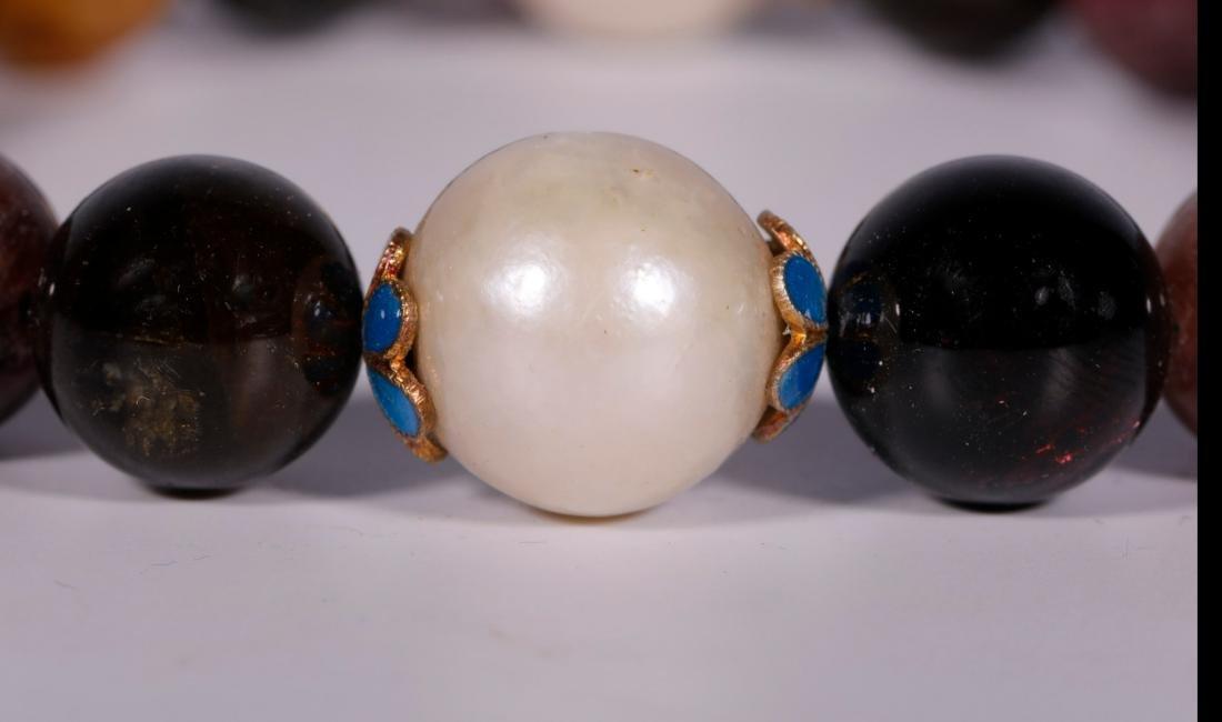 Qing Dynasty - 18 Tourmaline Bracelet - 4