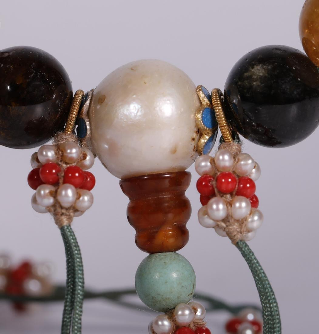 Qing Dynasty - 18 Tourmaline Bracelet - 6
