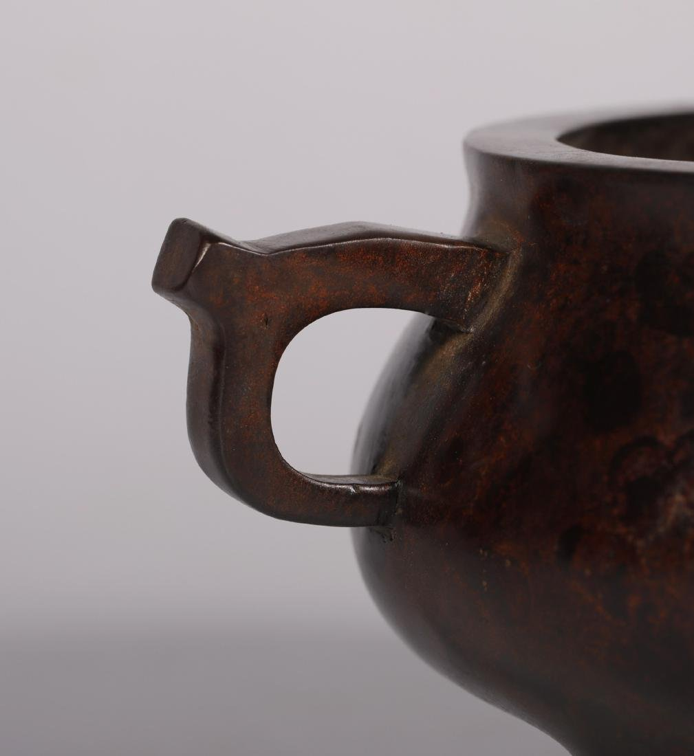 Qing Dynasty - Gilted & Pattern Censer - 8