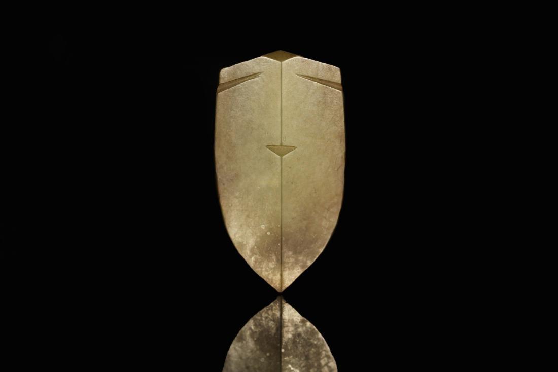 Shang Dynasty - Carved Gray Jade Cicada