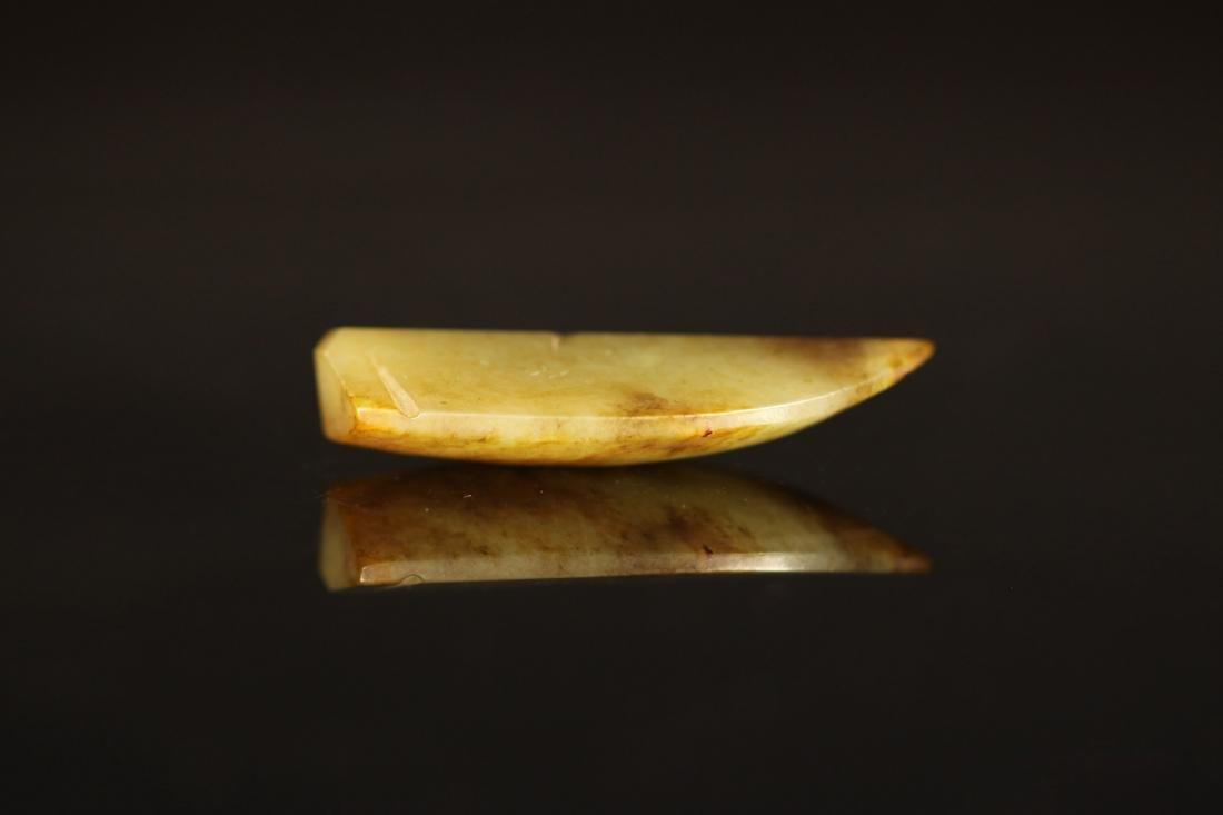 Shang Dynasty - Carved Gray Jade Cicada - 3