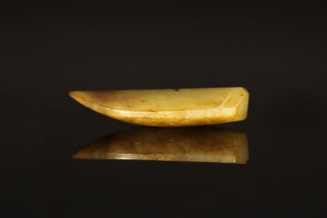 Shang Dynasty - Carved Gray Jade Cicada - 4