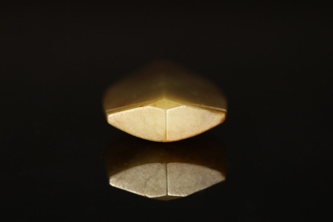 Shang Dynasty - Carved Gray Jade Cicada - 5