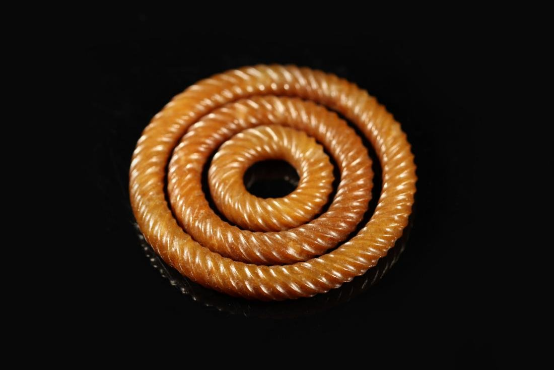 Han Dynasty - 3 Pcs Thread Ringer