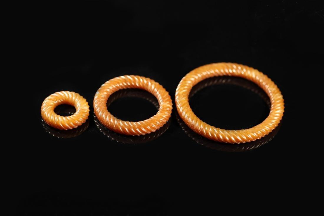 Han Dynasty - 3 Pcs Thread Ringer - 2